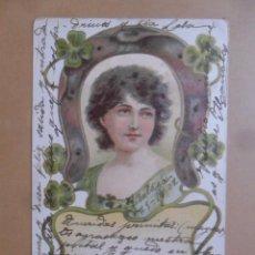 Postales: TARJETA POSTAL CIRCULADA 23 DE DICIEMBRE DE 1902 - SELLO DE 10 CTS.. Lote 171105192