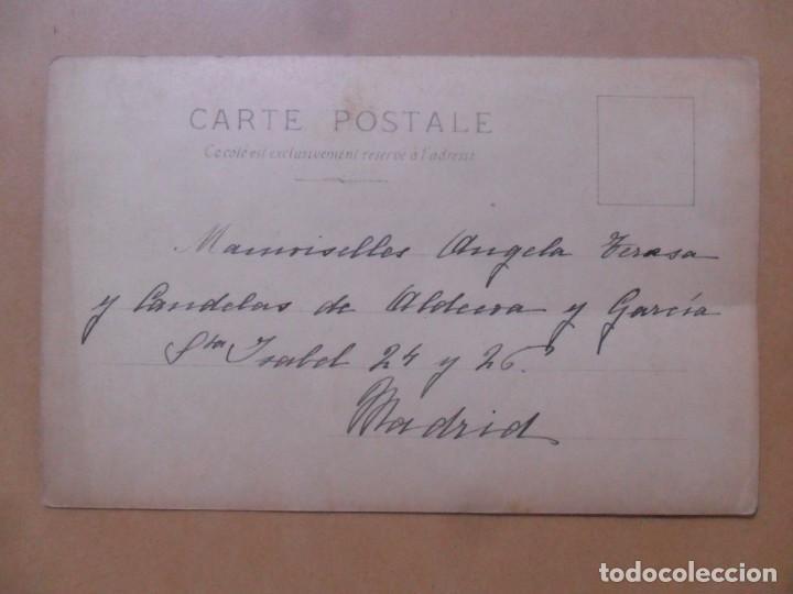 Postales: TARJETA POSTAL COLOREADA C'1902-MLLE. SPINDLER ET MLLE. ROBINNE-LE CULTE DU GUI 112/11-H MANUEL, PA - Foto 2 - 171132638