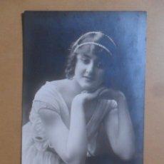 Postales: TARJETA POSTAL CIRCULADA - DAMA - 06 OCTUBRE 1915 - SELLO 10 CTS.. Lote 171134205