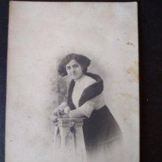 Postales: RETRATO DE MUJER POSTAL FOTOGRAFICA 1910. Lote 171425648