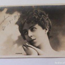 Postales: ANTIGUA POSTAL ARTISTA FRONDAZ. CLICHÉ REUTLINGER. EDITORES KUNZLI FRÈRES. FECHADA 30-8-1908.. Lote 171739889