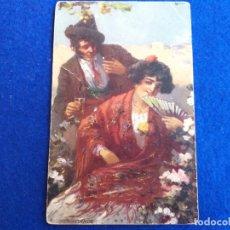 Postales: POSTAL ANTIGUA. CAMELANDO. OILETTE, RAPHAEL TUCK & SONS LTD # 9160. ESPAÑA. . Lote 173509375