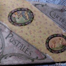 Postales: ALBUM CON 150 POSTALES FOTO * PAREJAS -MUJERES-GALANTES * PRINCIPIOS SIGLO PASADO. Lote 173982520