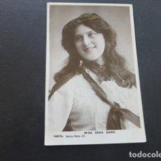Postales: MISS ZENA DARE POSTAL ACTRIZ ARTISTA . Lote 174569464