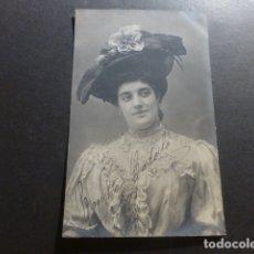 Postales: CONCHA CATALÁ ACTRIZ ARTISTA CANTANTE CUPLETISTA POSTAL CON FIRMA AUTOGRAFA. Lote 175013617