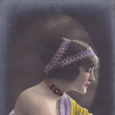Postais: POSTAL BELLISIMA MUJER AÑO 1913 . Lote 175348895