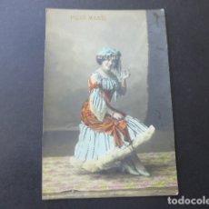 Postales: PILAR MARTI ARTISTA ACTRIZ CANTANTE CUPLETISTA ESPLUGAS FOTOGRAFO BARCELONA POSTAL. Lote 175787397