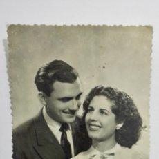 Postales: POSTAL ROMANTICA, AÑO 1957. Lote 175912428