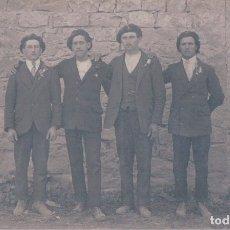 Postales: POSTAL FOTOGRAFICA HOMBRES DE EPOCA. Lote 176368033