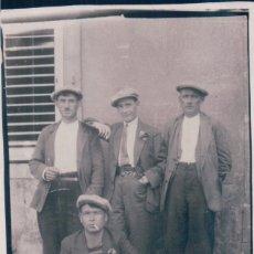 Postales: POSTAL FOTOGRAFICA HOMBRES DE EPOCA. Lote 176368344