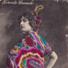 Postales: TERESITA CAMACHO MADRIR 5618/4 CIRCULADA CÄDIZ 1921. Lote 176744165