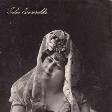 Postales: JULIA ESMERALDA MADRID (SIN CIRCULAR) . Lote 176747997