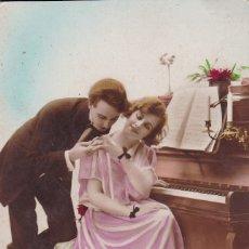 Postales: PAREJA TOCANDO EL PIANO ED. LEO 290 (SIN CIRCULAR) . Lote 176833430
