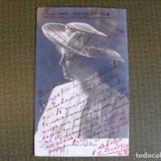 Postales: POSTAL DE LA ACTRIZ LAURA HOPE CREWE. 1905.. Lote 177495592