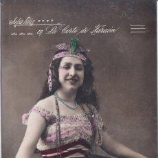 Postales: JULIA FONS - EN LA CORTE DE FARAON. Lote 177846128