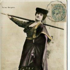 Postales: LA TORTOJADA-ARTISTA CUPLETISTA-FOTOGRÁFICA 1906. Lote 177970333