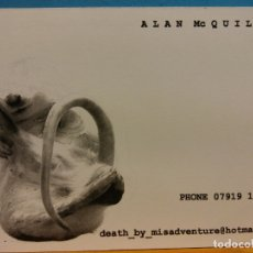 Postales: ALAN MC QUILLAN. MIS ADVENTURE. PUBLICIDAD. Lote 178688636