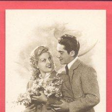 Postales: POSTAL ROMANTICA, MODELO 10.5 SIN CIRCULAR, VER FOTOS. Lote 179024806