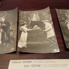 Postales: ANTIGUAS POSTALES PAREJAS. Lote 179555912