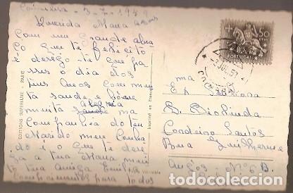 Postales: Portugal & Circulado, Fantasia, Foto, Ed. Superluxe Paris, Coimbra a Lisboa 1958 (7765) - Foto 2 - 180137603