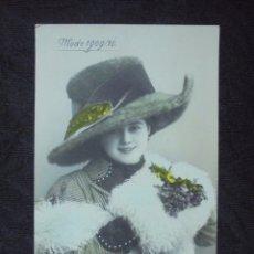 Postales: POSTAL 1910 MODE 1909/10. Lote 182745760
