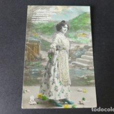 Postales: AMALIA MOLINA ARTISTA CANTANTE CUPLETISTA POSTAL. Lote 182939536