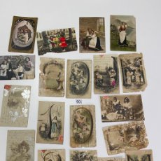 Postales: LOTE DE 19 POSTALES RELACIONADAS CON CADIZ DE COMIENZOS DE 1900 . . Lote 182960272