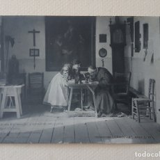 Postales: COLECCIÓN CÁNOVAS QUIEN SUPIERA ESCRIBIR POSTAL ANTIGUA. Lote 183475231