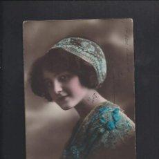 Postales: ANTIGUA POSTAL JOVEN. CIRCULADA 1915. Lote 183560712