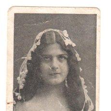 Postales: MINI POSTAL ROMANTICA PROPAGANDA DE CHOCOLATE AMATLLER. Lote 183619056