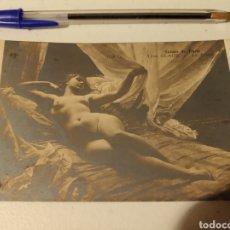 Postales: SALONES DE PARIS CHICA DESNUDA. Lote 184872912