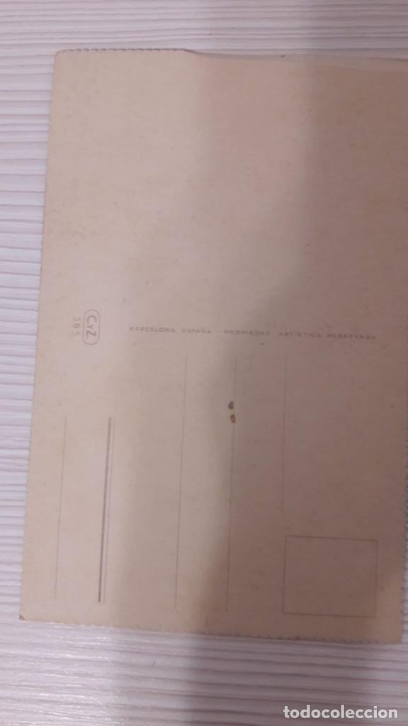 Postales: 1 POSTAL EDICIONES C Y Z SERIE 585. SIN CIRCULAR - Foto 2 - 185262668