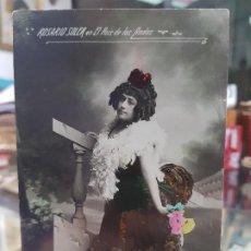 Postales: ANTIGUA POSTAL ROMANTICA ACTRIZ CUPLESTISTA ROSARIO SOLER EL PAIS DE LAS HADAS. Lote 187596611
