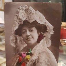 Postales: ANTIGUA POSTAL ROMANTICA ACTRIZ CUPLETISTA ROSARIO SOLER. Lote 187596953