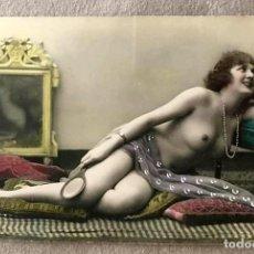 Postales: LOTE DE TRES POSTALES COLOREADAS A MANO PARIS 1915. Lote 215482417