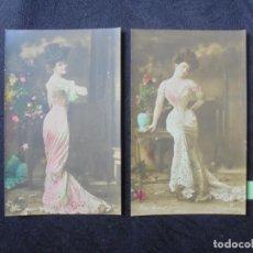Postales: 2 POSTALES DORA AGOUST. Lote 188713718