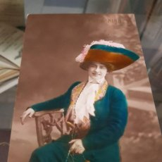 Postales: ANTIGUA POSTAL ROMANTICA ACTRIZ COUPLETISTA FORNARINA. Lote 189988205