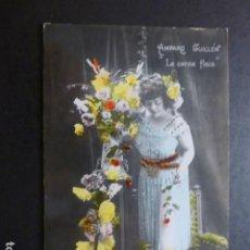 Postales: AMPARO GUILLEN EN LA CARNE FLACA ARTISTA ACTRIZ CUPLETISTA POSTAL. Lote 190544195