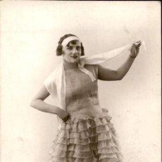 Postales: EMMA DE ARAGÓN – BELLA MUJER, ACTIZ, CANTANTE – FOTOGRAFIA AGFA. Lote 191091225