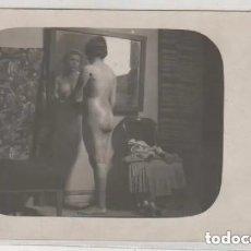 Postales: POSTAL FOTOGRÁFICA, DESNUDO FEMENINO. POSADO. SIN CIRCULAR. NO FIGURA FOTÓGRAFO.. Lote 191293713