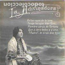 Postales: P-9740. POSTAL FOTOGRAFICA LA ADIVINADORA. . Lote 191491986