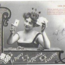 Postales: P-9741. POSTAL FOTOGRAFICA LES CARTES.. Lote 191492271