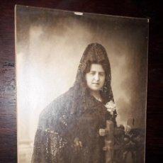Postales: Nº 32515 POSTAL FOTO SEÑORA AMADOR FOTOGRAFO PUERTA DEL SOL MADRID. Lote 191526976