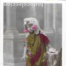 Postales: P-9757. POSTAL FOTOGRAFICA COLOREADA. CARMENCITA. PRINCIPIOS S.XX. . Lote 191587265