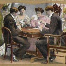 Postales: P- 9769. POSTAL ALEMANA K.V.I. PLAYING CARDS.. Lote 191593790