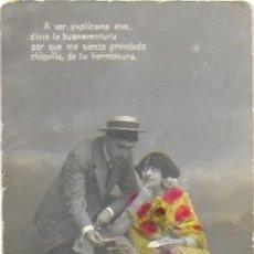 Postales: P- 9773. POSTAL FOTOGRAFICA COLOREADA PAREJA.. Lote 191597440