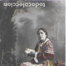 Postales: P-9919. POSTAL FOTOGRAFICA COLOREADA, MUJER CON CARTAS.. Lote 192411228