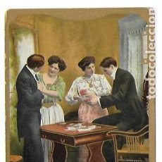 Postales: P-9929. POSTAL ALEMANA K.V.I. PLAYING CARDS. PRINCIPIOS S.XX. . Lote 192434933