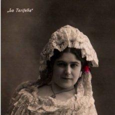 Postales: POSTAL LA TARIFEÑA. FAMOSA DE LA EPOCA. Lote 192524821