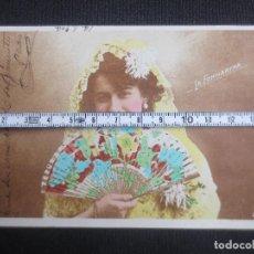 Postales: ARTISTA CUPLETISTA CONSUELO VELLO CANO LA FORNARINA. Lote 193319291
